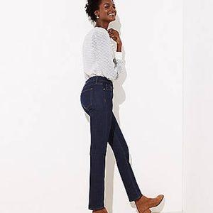 Ann Taylor LOFT Straight Leg Hi Rise Jean 6
